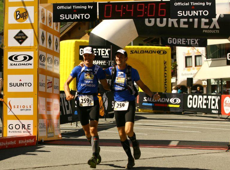 Ziel Einlauf Kitzbühl TAR 2012